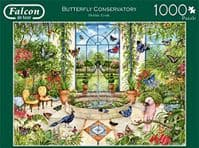 Butterfly Conservatory 1000 Pieces |Falcon Jigsaws